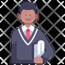 School College Student Icon