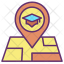 Mcollege Map Location College Location University Location Icon