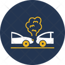 Collide Car Back Icon
