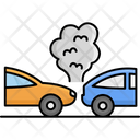 Collide Car Back Accident Car Icon