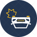 Collide Vehicles Accident Car Icon