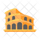 Colloseum History Vacation Icon