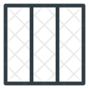 Collumn Style Format Icon