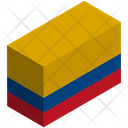 Flag Country Colombia Icon