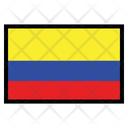 Colombia International Global Icon