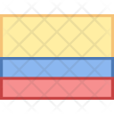Colombia Flag Country Icon