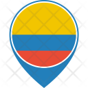 Colombia Flag World Icon