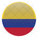 Colombia South America Icon