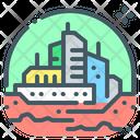 Colony Future City Icon