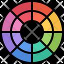 Color Circle Brand Icon