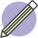 Color Pencil Fill Icon
