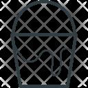 Color Bucket Pail Icon