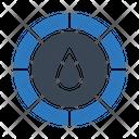Color Palette Drop Icon