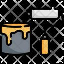 Color Brush Construction Icon