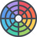 Color Background Food Icon