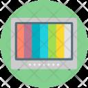 Color Tv Television Icon
