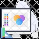 Color Balance Color Scheme Color Contrast Icon