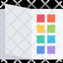 Color Book Brand Icon