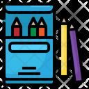 Color Pencil Box Icon