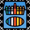 Crayon Crayons School Icon