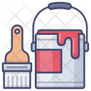 Wall Oil Brush Icon