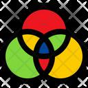 Color Filters Color Palette Edit Tools Icon