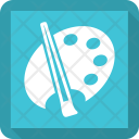 Palate Color Brush Icon