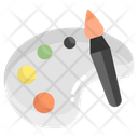 Color Palate Painting Paint Icon