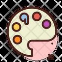 Color Palete Icon