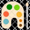 Color Palette Theme Icon