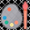 Color Palette Color Plate Paint Icon
