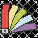 Color Palette Paint Swatch Miscellaneous Icon