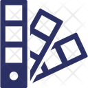 Color Palette Pantone Icon