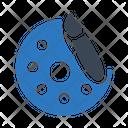 Color Palette Drawing Palette Icon