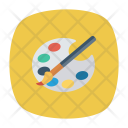 Brush Color Paint Icon
