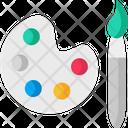 Color Palettem Color Palette Pantone Icon
