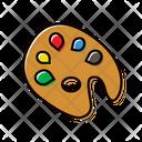 Pallette Color Tool Icon