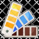 Color Catalog Color Palette Color Swatches Icon