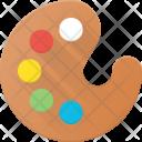 Color Palette Paint Icon
