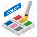 Paint Bold Painting Color Painting Tool Icon