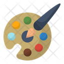 Drawing Education Paint Icon