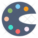 Color Stationery Paper Icon