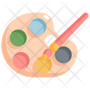 Color Painting Palette Icon
