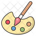 Art Palette Drawing Icon