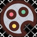 Color Palette Color Dish Color Icon