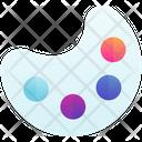 Paint Color Art Icon