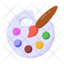Water Color Color Palette Painting Icon