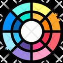 Color Palette Palette Color Icon