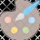 Color Palette Palette Art Icon