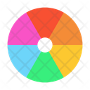 Color Palette Swatches Color Icon